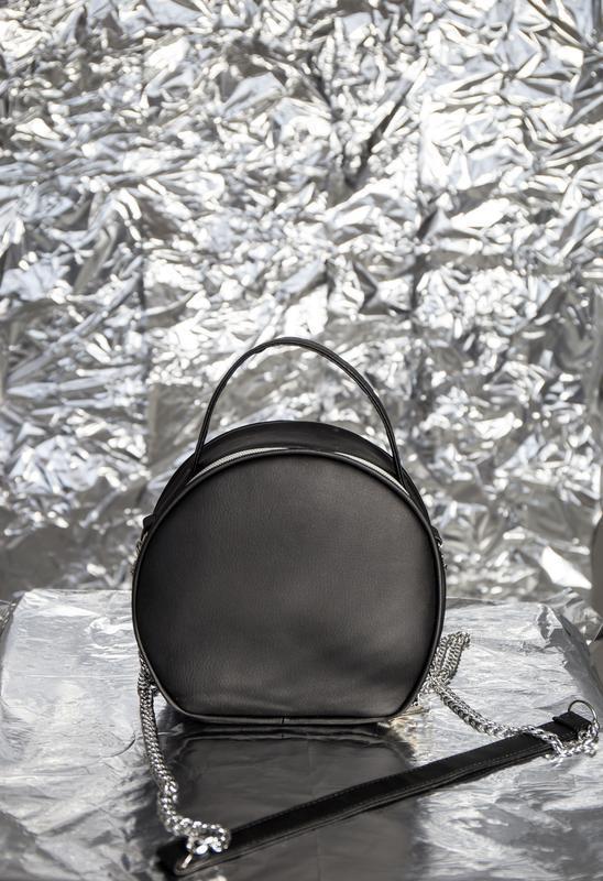 Замечательная круглая сумочка