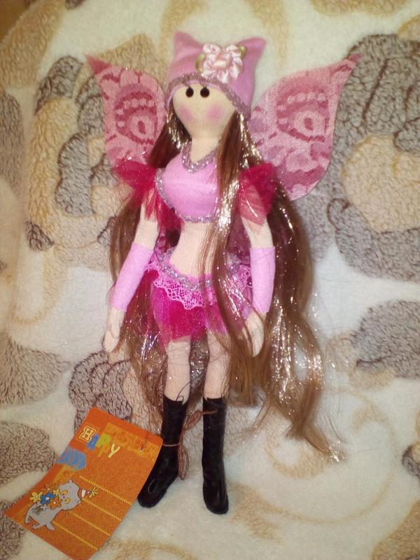 """Кукла """"Фея Винкс"""" интерьерная игрушка ручной работы"""