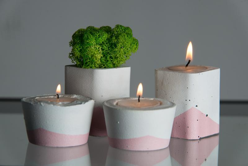 """Подарочный набор """"Белая пастель"""", розовый"""