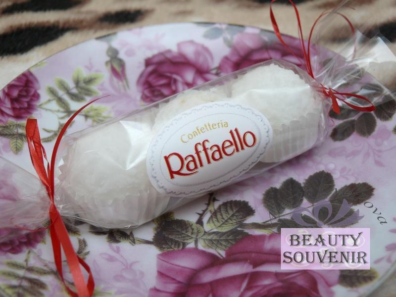 Мыло-скраб Рафаэлло кокос