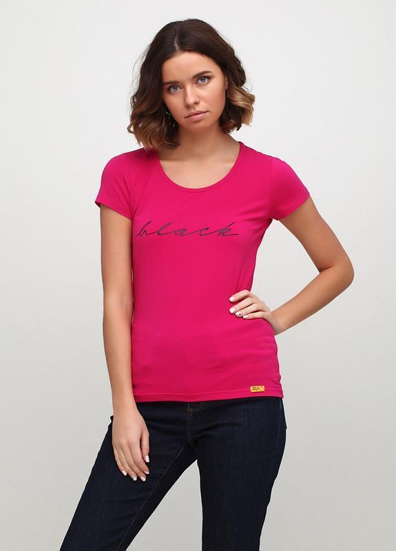 женская футболка Ballet Grace с надписью BLACK
