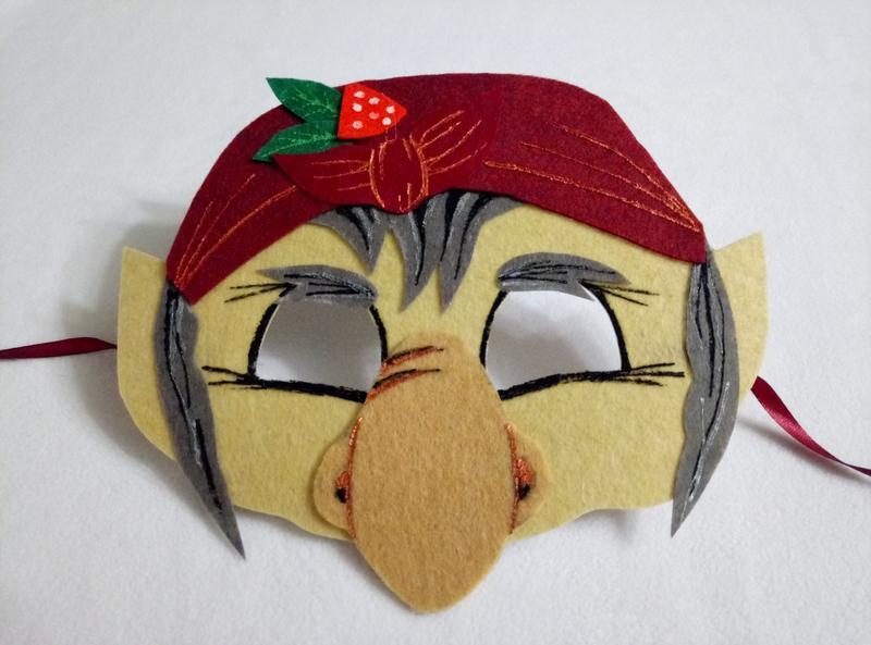 Маска лешего своими руками новогодние маски новогодние