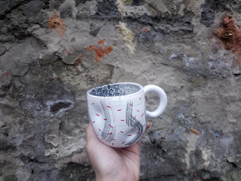 Чашка керамическая, 290мл