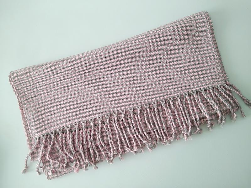 Тканый шарф Межсезонье 2