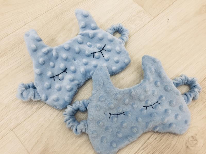 Маска для сна кошка-плюшевая повязка для сна-детская пушистая маска-подарки для девушек