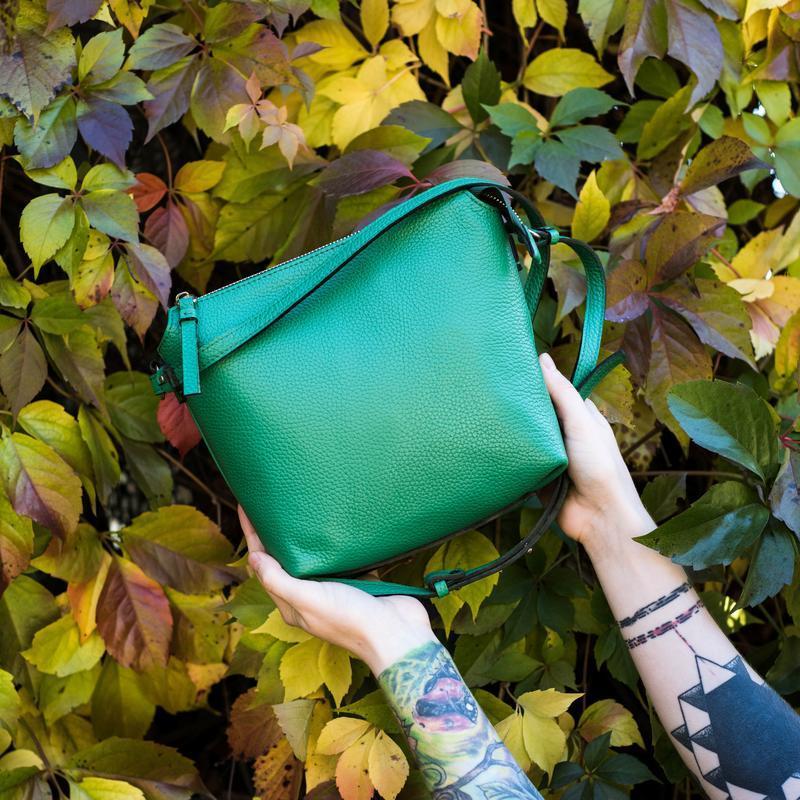 Женская сумка из высококачественной итальянской кожи