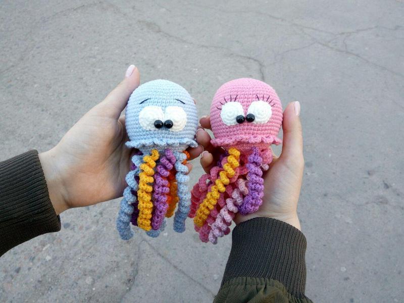 Игрушка, сувенир, подарок.. Милые медузы, чудо-медуза
