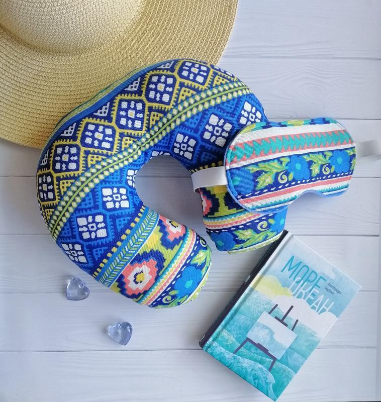 """Комплект для подорожей """"Blue aztec"""""""