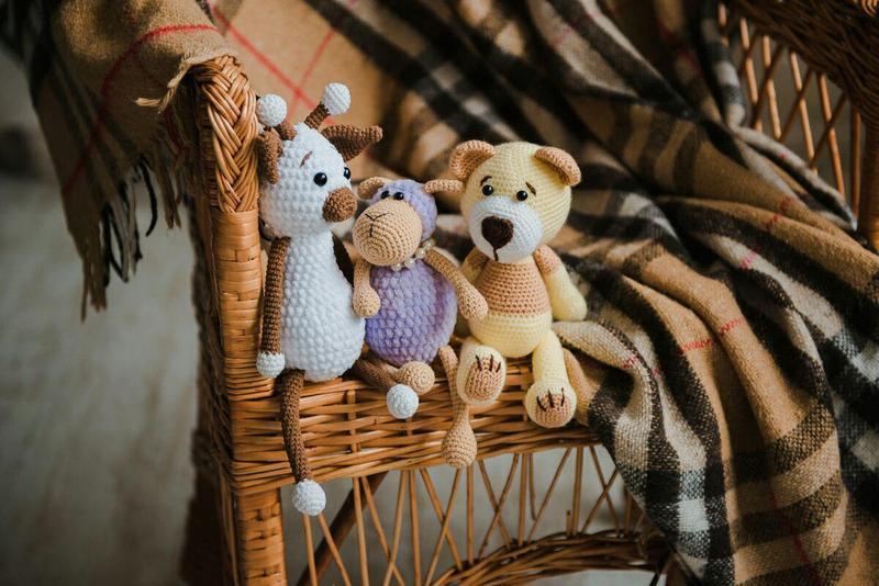 Мишка, вязаный мишка, игрушка для новорожденного, ребенка. Игрушка мишка, мягкий мишка