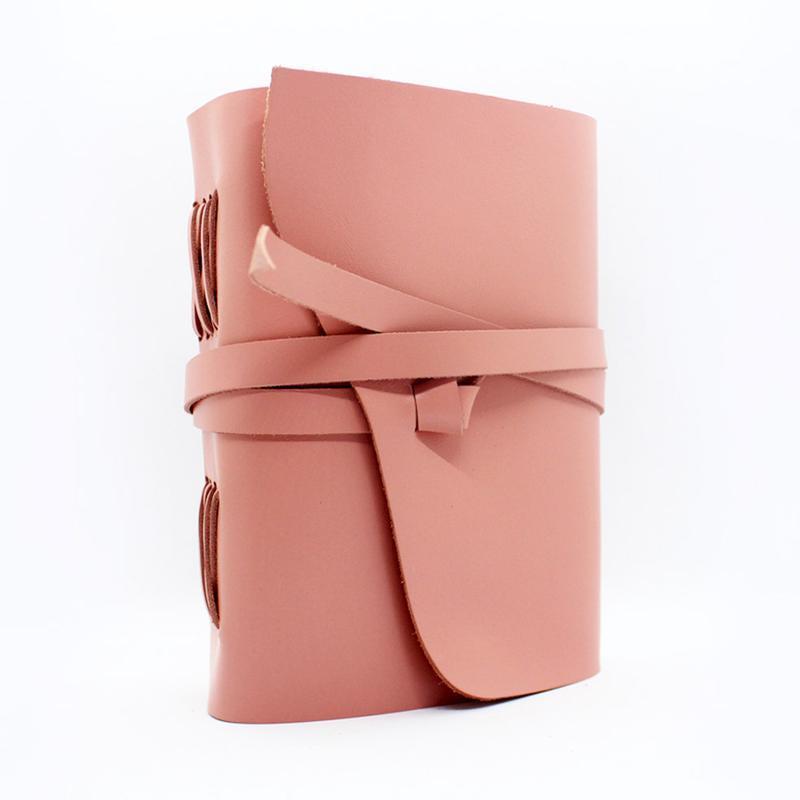 Кожаный оригинальный блокнот женский