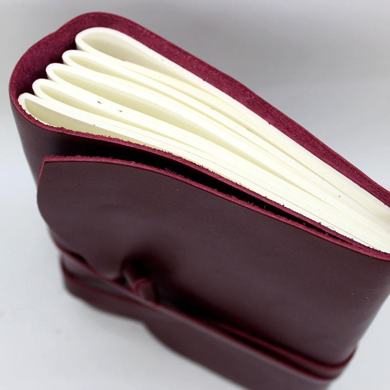 Женский кожаный блокнот