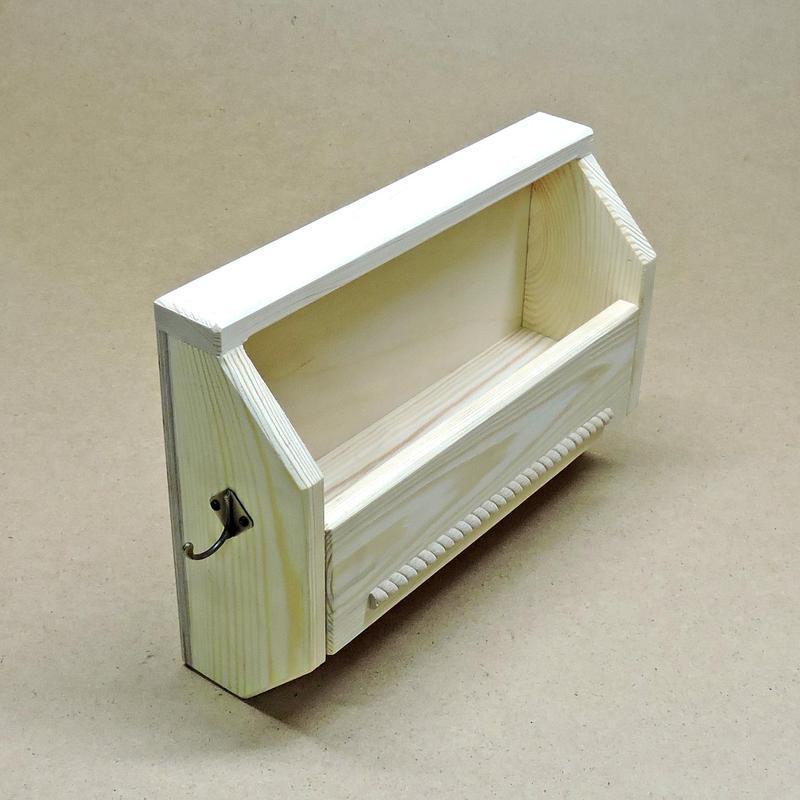 Ключница деревянная Шенонсо без отделки