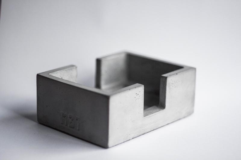 Холдер для кухонних губок з бетону, подставка для губок