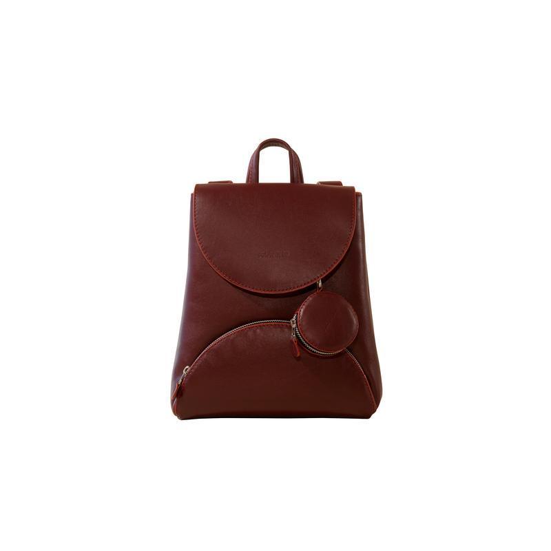 Базовий жіночий шкіряний рюкзак / базовый женский кожаный рюкзак
