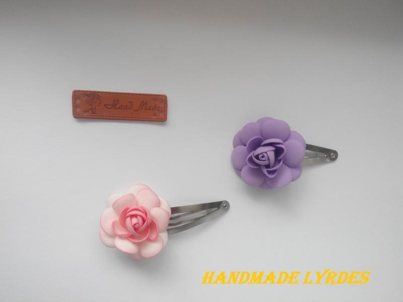 """Набор заколок для первых чёлок """"Розы"""""""