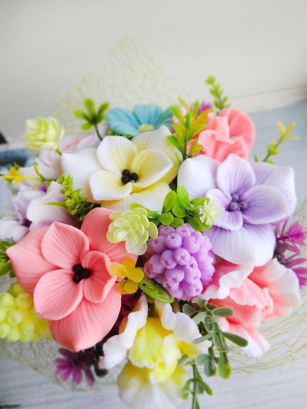 """Мило """"Букет квітів в супнике"""""""