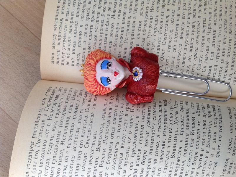 Закладка для книг и блокнотов Королева червей. Алиса в стране чудес