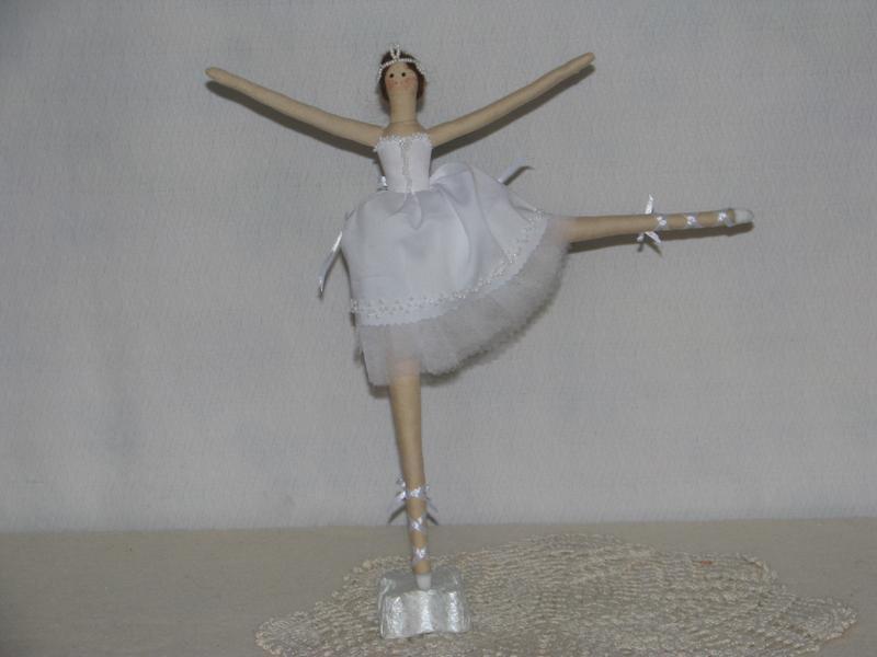 Тильда балерина,балерина, кукла, кукла тильда, тильда