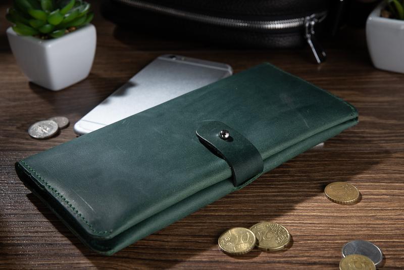 Бумажник HiArt WP-06 Shabby Alga