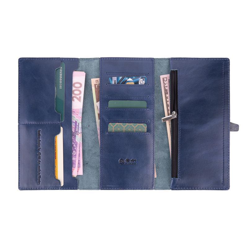 Бумажник HiArt WP-08 Crystal Blue
