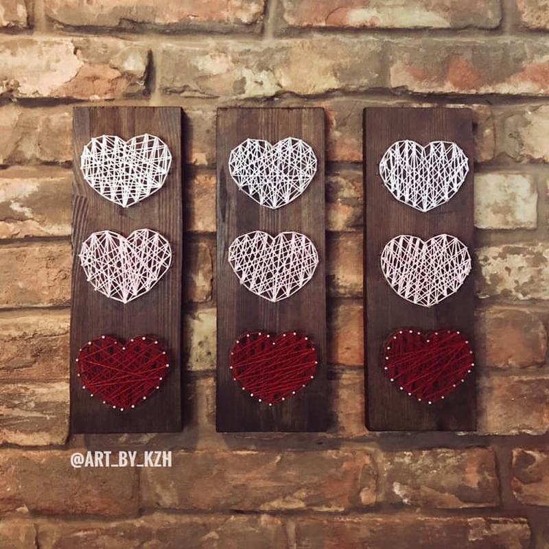 Сердечки/ сердце/ Стринг Арт