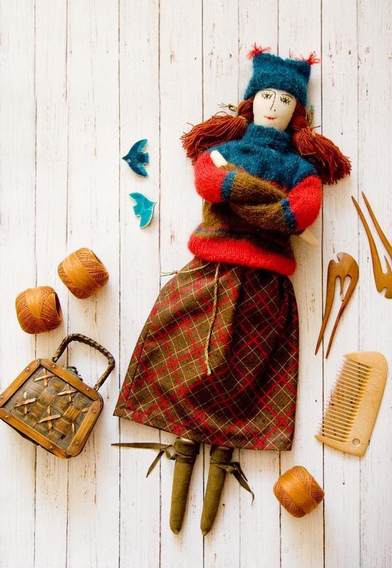 Большая кукла Тильда