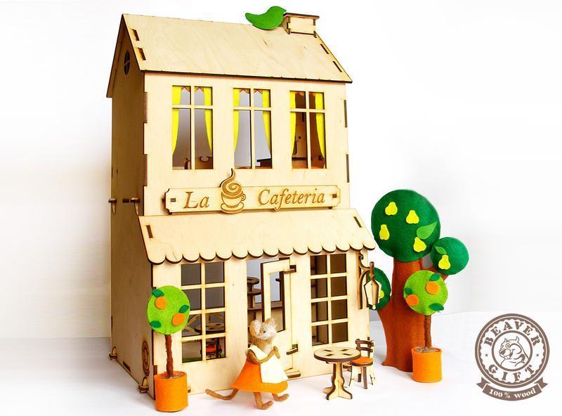 Кукольный домик 2в1