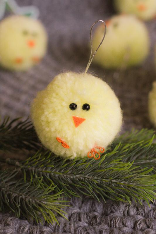 Цыплята на пасхальное дерево