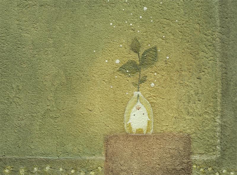 Акварель, принт, плакат, постер А4.