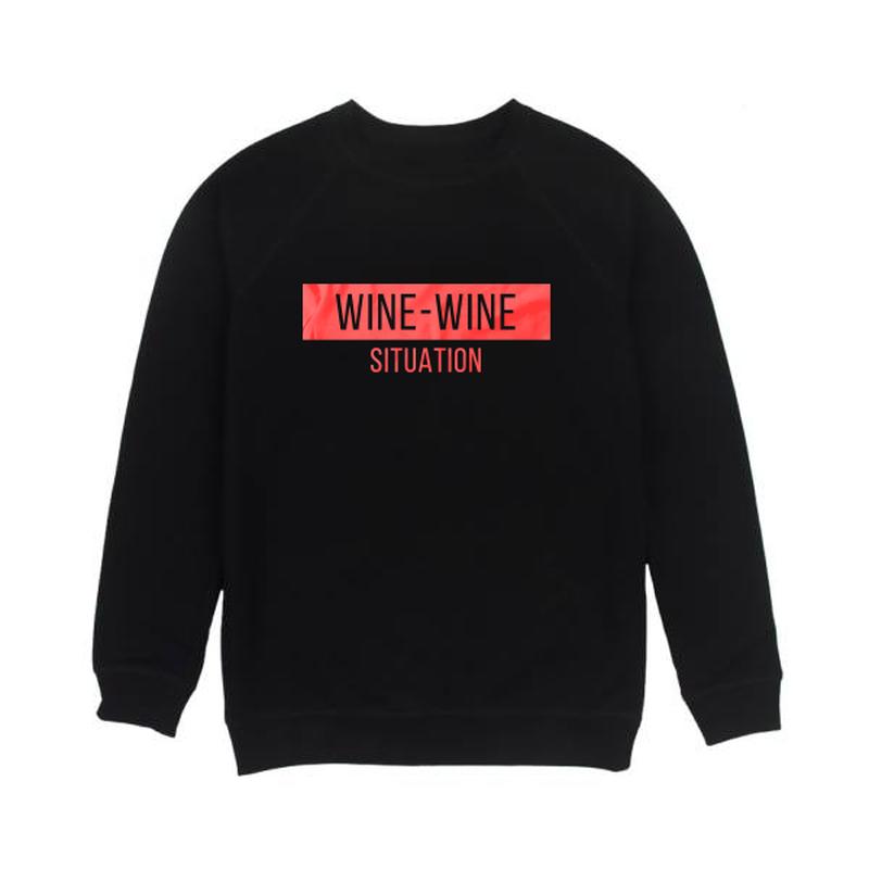 Мужской свитшот Wine-Wine Situation