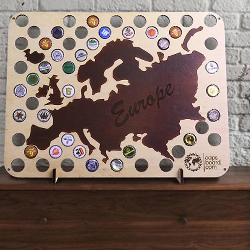Карта для пивных крышек CAPSBORD EUROPE