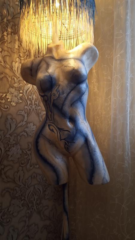 Абажур напольный манекен