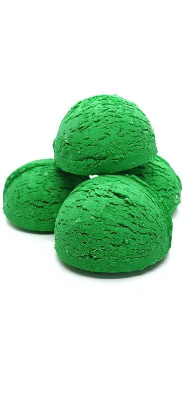 "Тверда пінка для ванни ""Зелене яблуко"" (4 шт)"