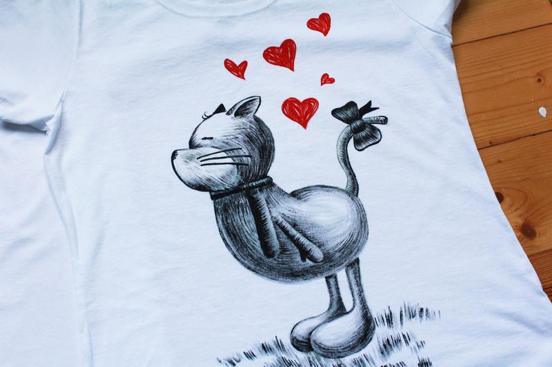 Парні футболки для закоханих Котики