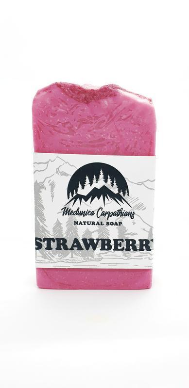 Мыло натуральное Strawberry Клубника