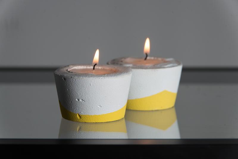 """Подарунковий набір """"Біла пастель"""", жовтий"""