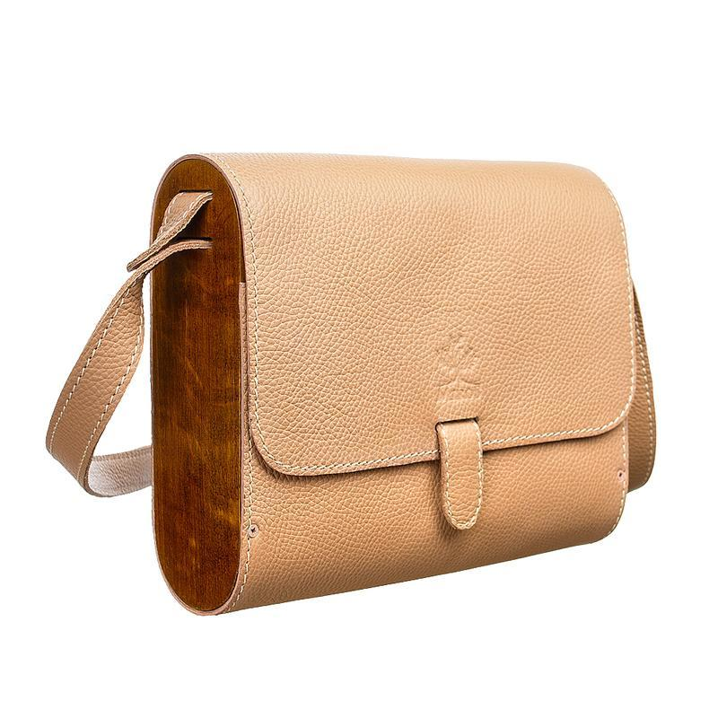 Бежевая женская кожаная сумка клатч ручной работы купить в Украине ... 94a954c36a1c2