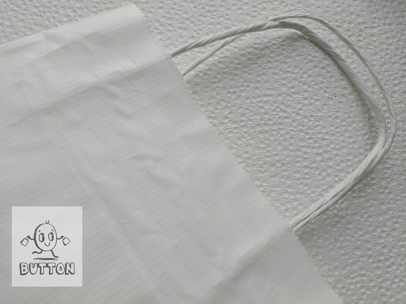 Пакет білий з вітою ручкою 240мм/200мм/80мм