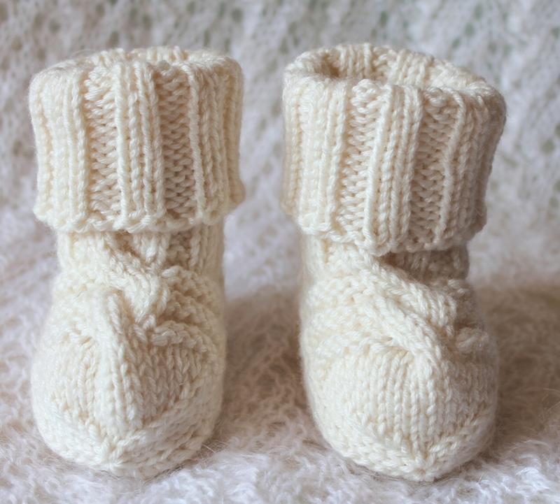 Носочки для малышей baby wool