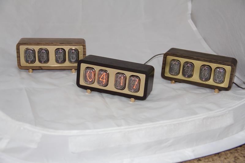 Ламповые Часы на газоразрядных индикаторах ин-12