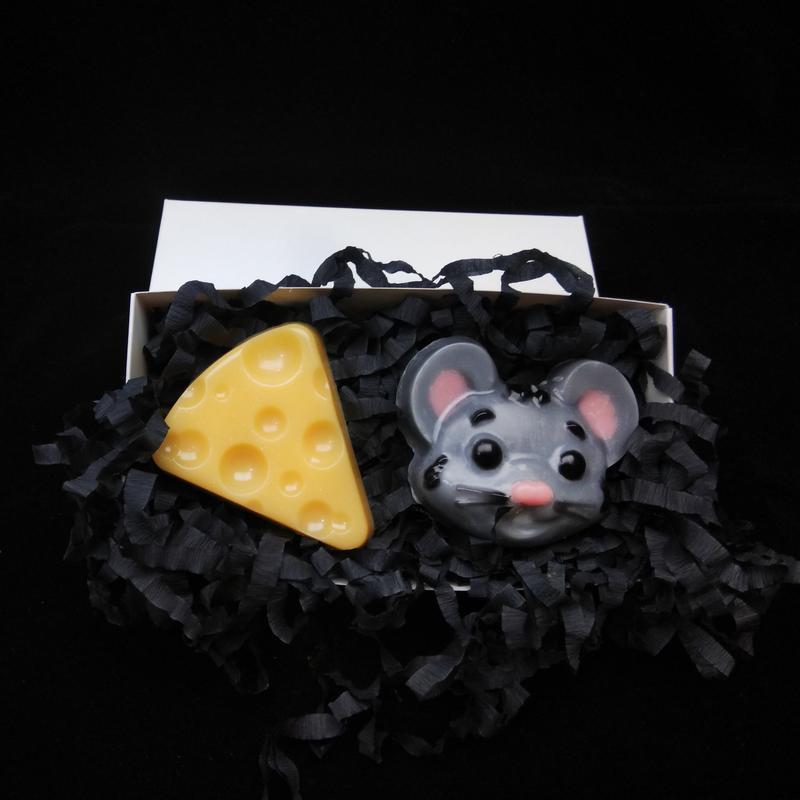 """Набір мила """" Мишка та сир"""""""