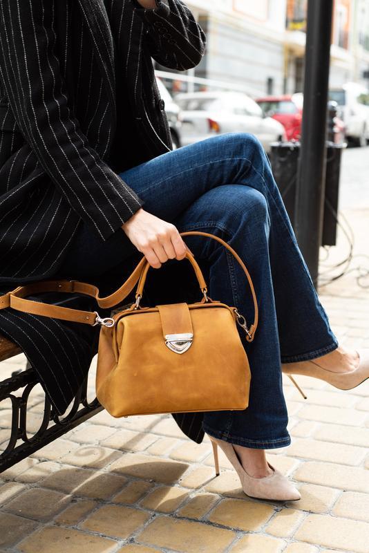 Кожаная сумка-саквояж Фэйт НОВИНКА от мастерской Author   1_0109_FTH