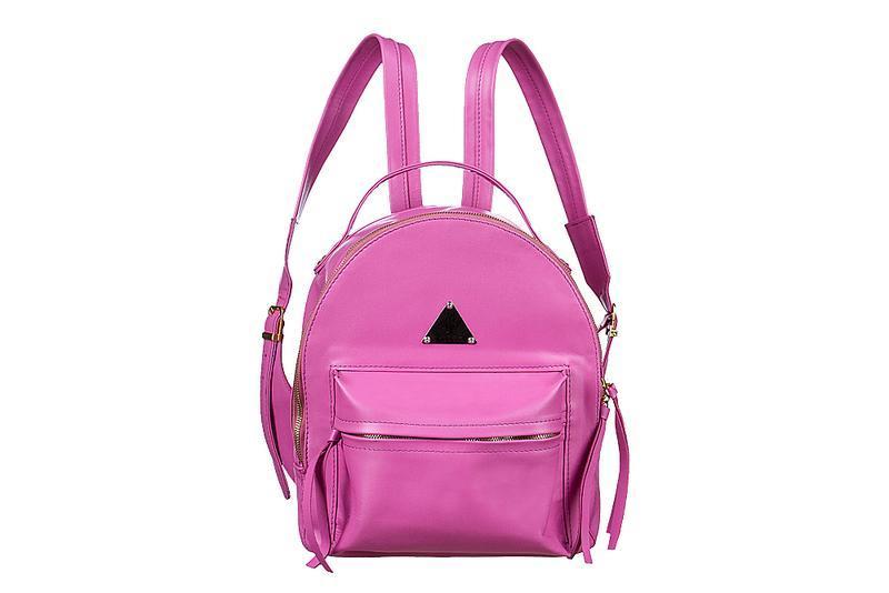 eeba99287885 Женский розовый кожаный рюкзак ручной работы купить в Украине. №55923