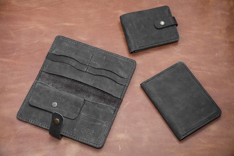 Кожаный набор аксессуаров