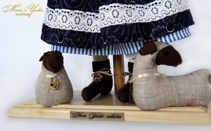 "Колекційна лялька ""Пастушка"""