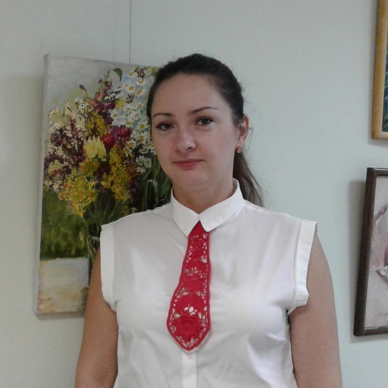 Краватка в'язаний