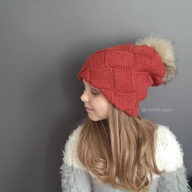 Двойная шапка Энтерлак (рыжая)