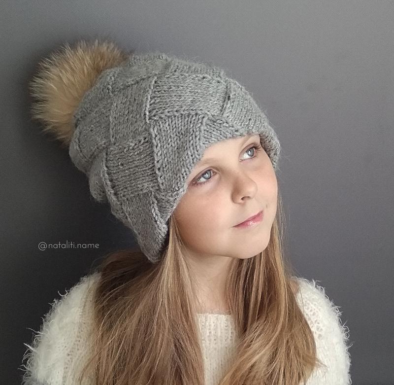 Двойная шапка Энтерлак (серая)
