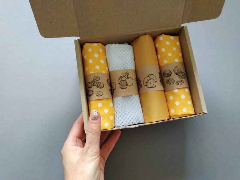 Набор мешочков для продуктов Киев, эко мешочки Киев, екомішечки Киев, екоторбинки Киев