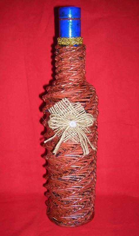 Декоративна пляшка Вишукана